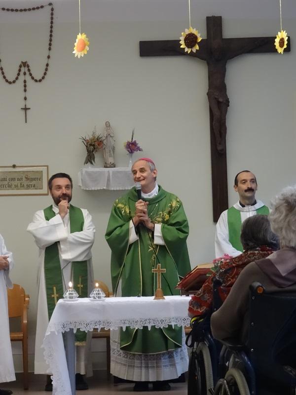 Santa Messa col nostro Vescovo Mons. Matteo Maria Zuppi