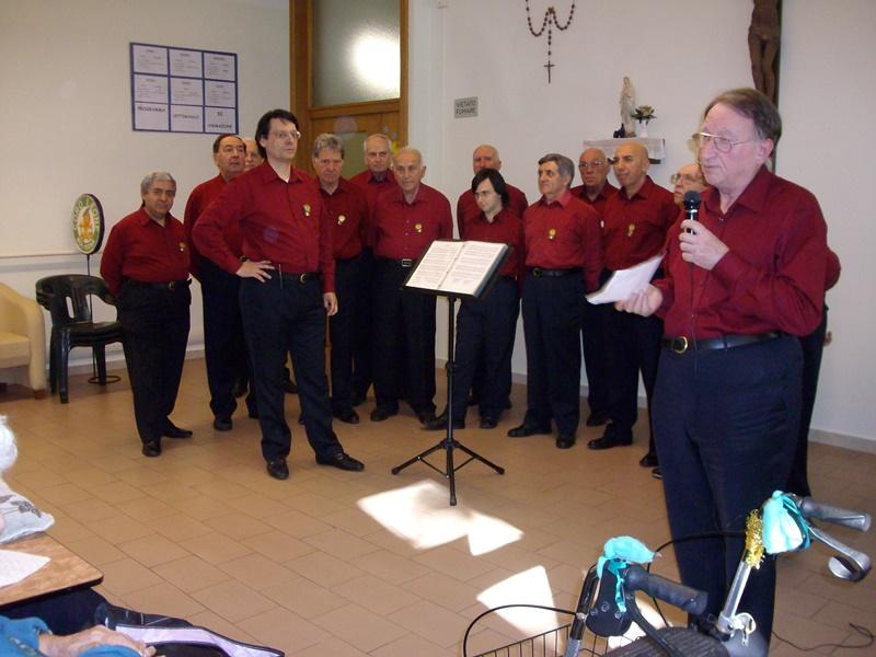 Pomeriggio musicale con canti degli Alpini e popolari