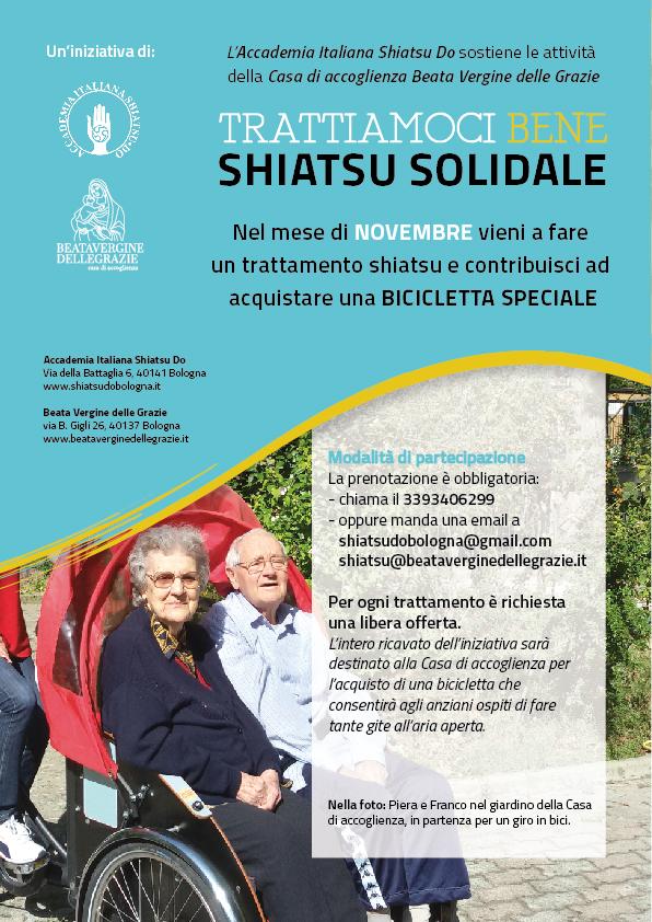 Novembre mese dello shiatsu e della solidarietà!
