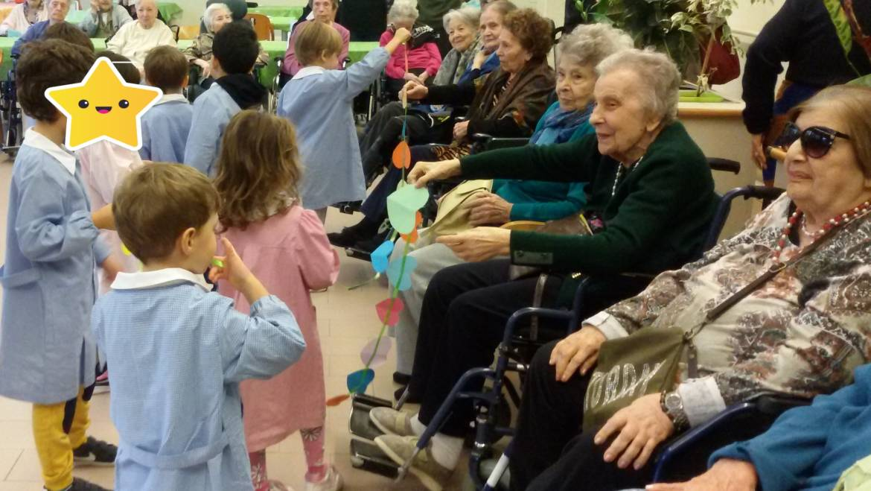 Festa di San Martino con i bambini della scuola materna di San Severino