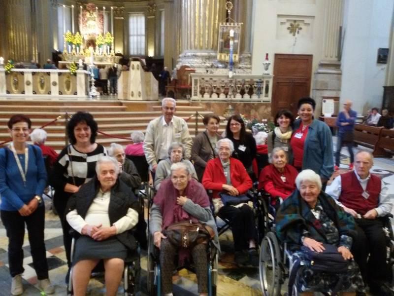 Messa degli infermi in San Pietro