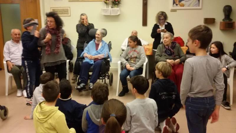Visita dei bimbi del catechismo della Parrocchia di San Severino