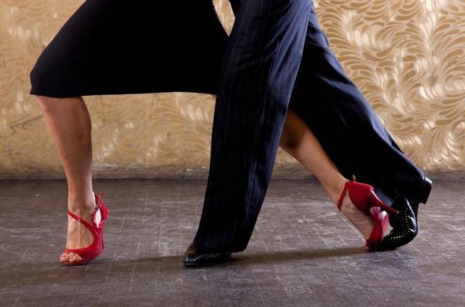 Spettacolo di tango argentino