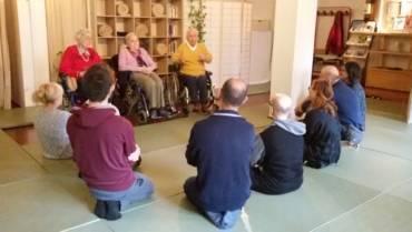 """""""Le mani sull'anziano: l'esperienza shiatsu alla Beata Vergine delle Grazie"""""""